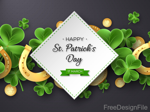 St patrick day festival design vector