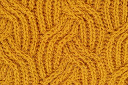 Stock Photo Yellow sweater knit effect texture background