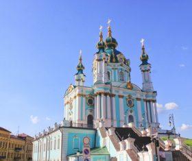 Ukrainian Hagia Sophia Stock Photo 01