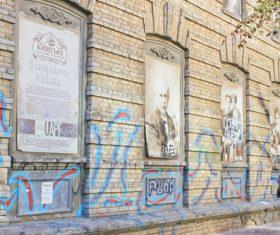 Ukrainian capital Kiev cityscape Stock Photo 02