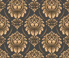 Vector damask seamless pattern element 01
