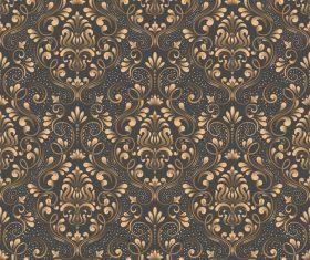 Vector damask seamless pattern element 08