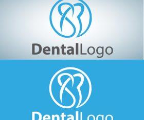 Vector dental logos creative design 01