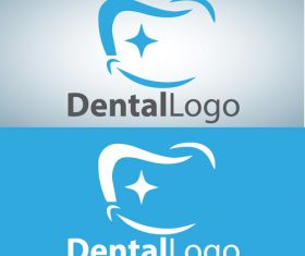 Vector dental logos creative design 04