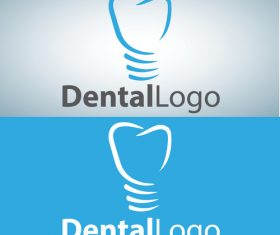 Vector dental logos creative design 05
