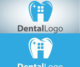 Vector dental logos creative design 08