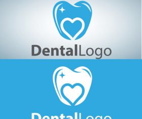 Vector dental logos creative design 10
