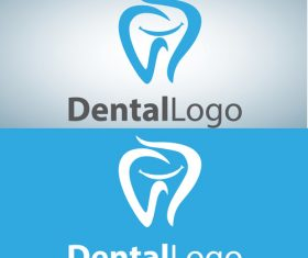 Vector dental logos creative design 11