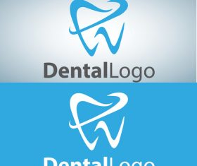 Vector dental logos creative design 12