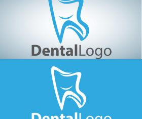 Vector dental logos creative design 13