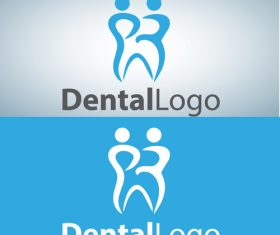 Vector dental logos creative design 14