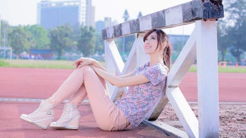 Asian women model photography Stock Photo 03