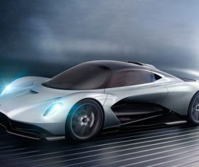 Aston Martin AM RB 003 concept car Stock Photo