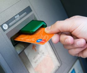 Bank plastic cards business Stock Photo 02