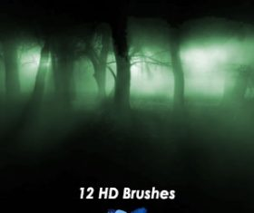 Beams Design HD Photoshop Brushes 02