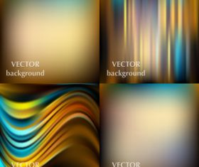 Bokeh colored background with abstract design vector 08