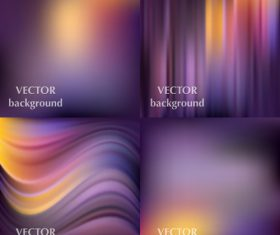 Bokeh colored background with abstract design vector 10