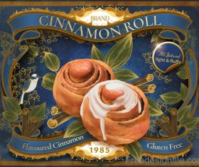 Cinnamon roll advertising poster vectors 03
