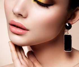 Cosmetics modern face care and hair daily make-up Stock Photo 02