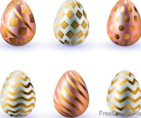 Creative easter egg design vector illustration 03