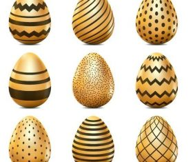 Creative easter egg design vector illustration 04