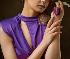 Creative makeup beauty Stock Photo
