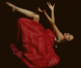 Dancing woman Stock Photo 03