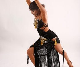Dancing woman Stock Photo 06