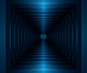 Dark 3D mirror background vectors