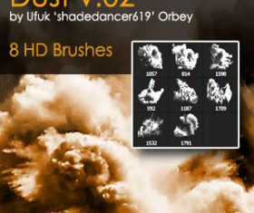 Dust HD Design Photoshop Brushes
