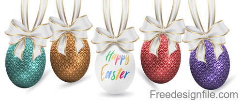 Easter Eggs Master vector