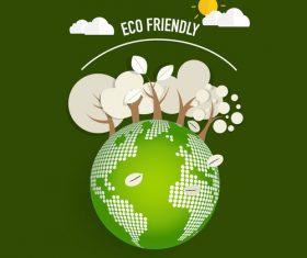 Eco friendly green template vector 03