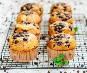 Homemade muffins Stock Photo