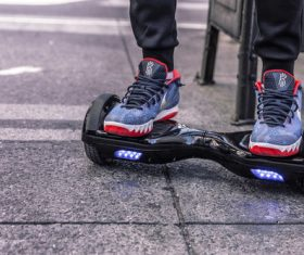 Hover Board Stock Photo