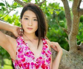 Japanese women Suzu Honjo Stock Photo 01