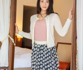 Japanese women Suzu Honjo Stock Photo 02