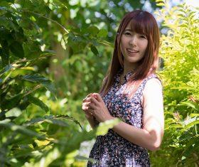 Japanese women Yui Hatano Stock Photo 01