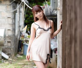 Japanese women Yui Hatano Stock Photo 02
