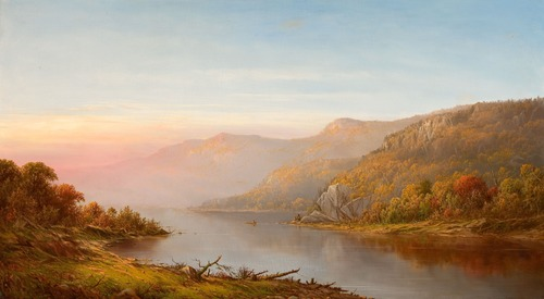 Landscape an oil painting Stock Photo 08