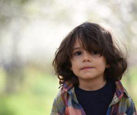 Lively little boy Stock Photo 04