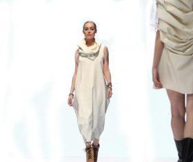 Model catwalk show Stock Photo 01