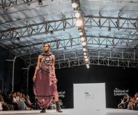 Model catwalk show Stock Photo 03