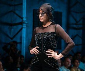 Model catwalk show Stock Photo 04