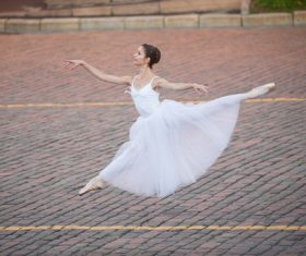 Outdoor Ballet Stock Photo 02