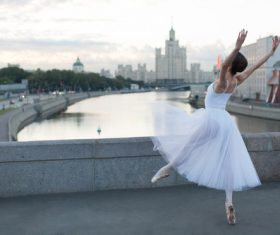Outdoor Ballet Stock Photo 03