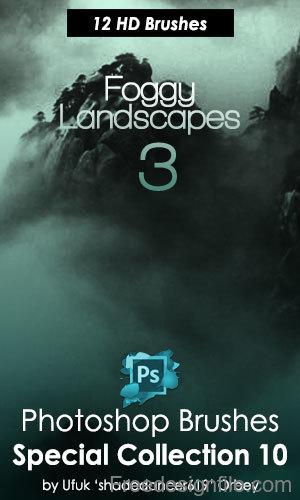 Realistic Landscapes Photoshop Brushes