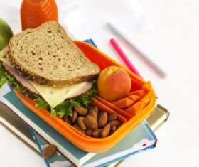 School lunch box Stock Photo 04