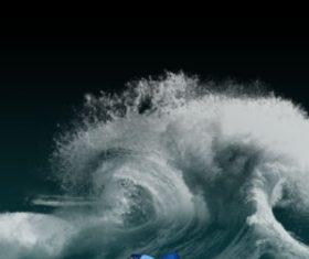 Splashes Water HD Photoshop Brushes