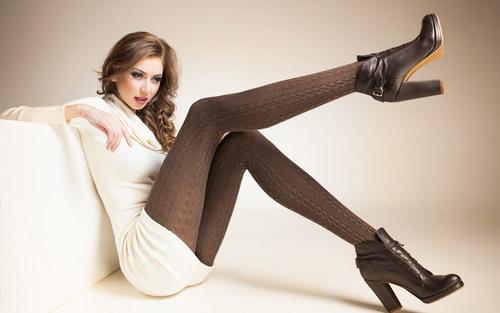 Stockings high heels beauty Stock Photo