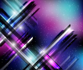 Tech modern background design vectors 01